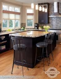 height of kitchen island taking the kitchen island to the next level normandy remodeling