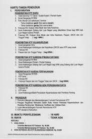 cara membuat ktp wna jadwal perekaman ulang e ktp depok portal resmi pemerintah kota depok