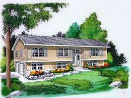 split entry home plans house plan 34679 at familyhomeplans