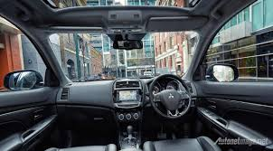 mitsubishi outlander 2015 interior mitsubishi asx interior facelift autonetmagz