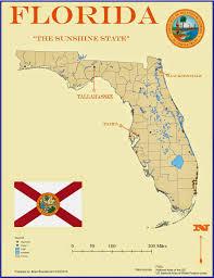 A Map Of Florida by The Notorious Gis January 2015