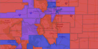 Denver Metro Zip Code Map by Map Colorado Voter Party Affiliation By County