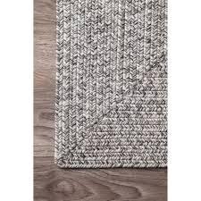 4 X 6 Bathroom Rugs Oliver Rowan Handmade Grey Braided Area Rug 4 X 6