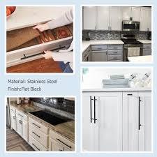 black t bar kitchen cupboard handles 3 inch center to center kitchen cabinet door handles black ls201bk