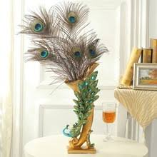 Flower Vase Crafts Popular Peacock Flower Vase Buy Cheap Peacock Flower Vase Lots