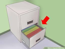 Files For Filing Cabinet 3 Ways To Organize Office Files Wikihow