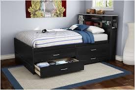 Bookcase Headboard Queen Full Platform Bed With Bookcase Headboard Double Bed With Storage