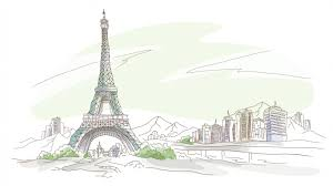 paris pen and pencil drawing wallpaper hd widescreen download hd