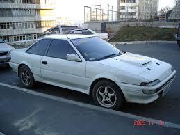 Toyota Corolla 1989 1989 Toyota Sprinter Trueno Pictures 1600cc Gasoline Ff