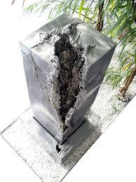 design zimmerbrunnen brunnen unikate direkt vom metall künstler kaufen gahr