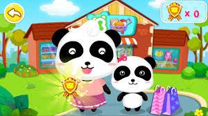 baby panda u0027s supermarket by baby bus game for kids free download
