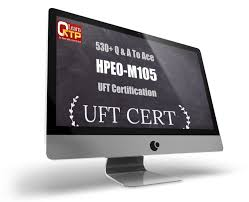 hpe0 m105 uft certification v12 mock questions and answers