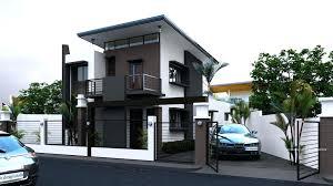 modern color of the house philippine modern house second floor house design modern house