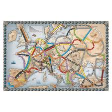 European Map Games by Ticket To Ride Europe Games And Hobbies