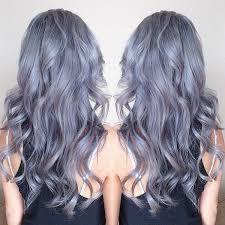 Gray Blue Color - 10 reasons to follow the fabulous gray hairstyles vpfashion
