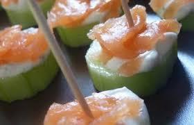 canapé saumon canapé saumon concombre recette dukan pl par brin de soleil