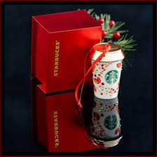 starbucks ornaments 2013 coffee house collectibles