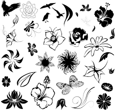 tribal flowers tattoo on foot real photo pictures images and