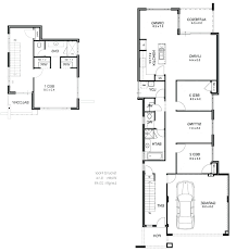 narrow house plans with garage narrow house plans lifeunscriptedphoto co