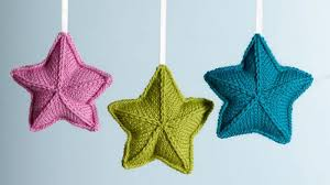 homelife how to knit ornaments