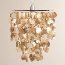 Seashell Light Fixture L Chandelier Hanging Shell L Seashell Light Fixtures Large