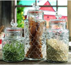 glass kitchen storage canisters extravagant and functional kitchen canisters for storage