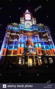 3d light show royal liver building 100th anniversary constructed in 1911