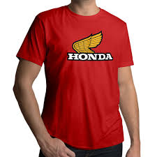 honda philippines logo retro old 70s honda motorcycles racing wing logo mens crew neck