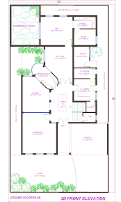 kanal house plan with swimming pool dha lahore plans kanal house plan with swimming pool dha lahore
