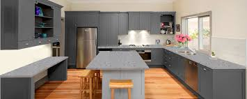grey kitchen units with black granite worktops grey quartz kitchen showroom granite tops uk