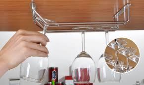 Under Cabinet Wine Racks Refreshing Under The Cabinet Wine Glass Rack Tags Under Cabinet