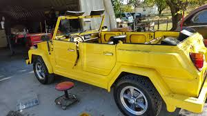 volkswagen thing yellow vw thing for sale in oklahoma volkswagen 181 1973 74