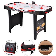 air powered hockey table costway rakuten costway 48 air powered hockey table indoor