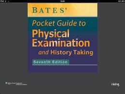 bates u0027 pocket guide to physical examination and history taking