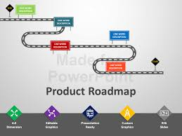 road map powerpoint template roncade info