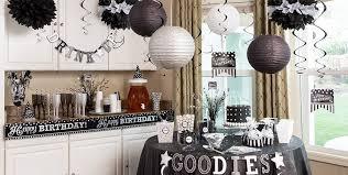 Black & White Birthday Party Supplies