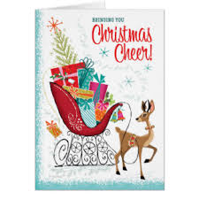 retro christmas cards 1950s christmas cards invitations greeting photo cards zazzle