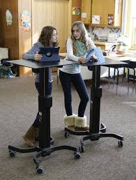 Ergotron Sit Stand Desk by Standing Desks At Schools The Solution To The Childhood Obesity
