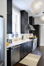 Kitchens With Yellow Cabinets Kitchens With Black Cabinets Pictures And Ideas