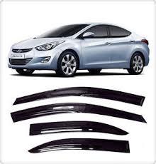 2011 black hyundai elantra black window visors guard for 2011 2015 hyundai elantra sedan