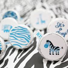Wild Safari Blue Baby Shower by Amazon Com Sweet Safari Boy Baby Shower Party Favor Stickers 324