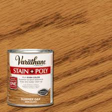 clean polyurethane varathane 1 qt summer oak stain and polyurethane case of 2
