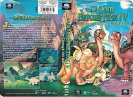 the land before time iv journey through the mists vhscollector