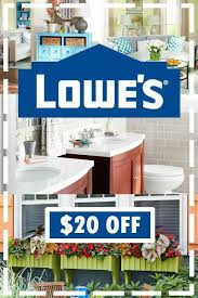 20 off lowes coupon get 20 off 100 orders at lowe u0027s for a