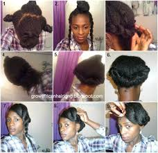 Protective Styles For Short Transitioning Hair - 15 hairstyles to help hide heat damage