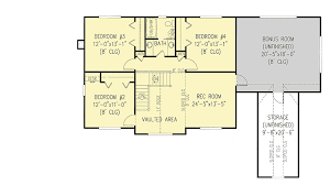 floor plans for 5 bedroom homes 4 or 5 bedroom home plan 6528rf architectural designs house