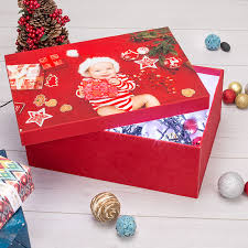 Christmas Decorations Storage Box by Photo Box Personalised Box With Photo Photo Storage Box Bags Of