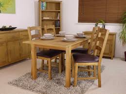 Dining Tables Canada Canada Oak Extending Dining Table Set Table And 4 Chairs