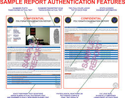 test result report template sle polygraph test report chicago illinois central polygraph