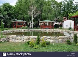 Landscape Design Online by Landscape Design With Rocks Pond Arbours Wood Stone Water